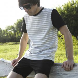 Футболка Transmod Melange Stripes